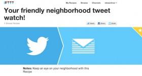 IFTTT Twitter Recipe