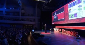 Jeremy Howard speaking at TEDx-Brussells