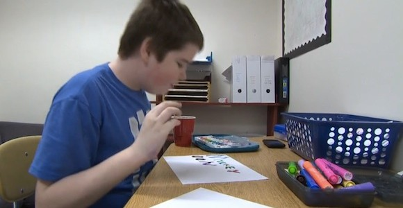 William - a boy with autism